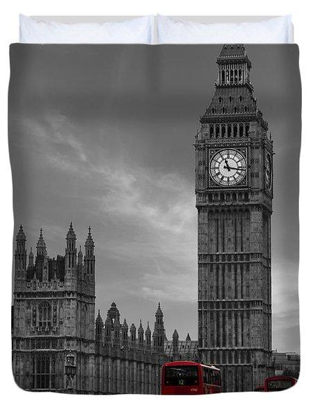 Westminster Bridge Duvet Cover by Martin Newman