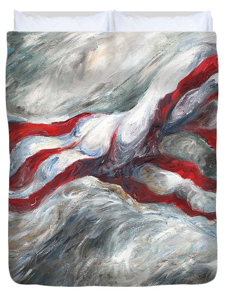 When The Dust Settles Duvet Cover by Francine Stuart