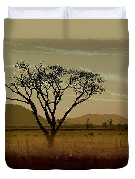 Wherever I May Roam Duvet Cover by Holly Kempe