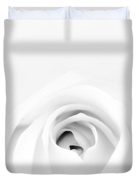 White Rose Duvet Cover by Scott Norris