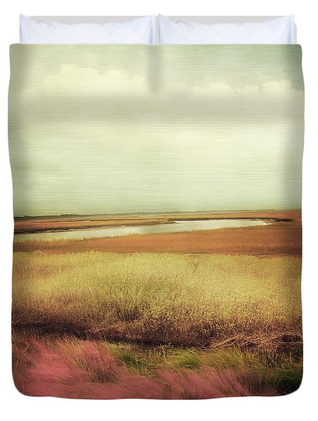Wide Open Spaces Duvet Cover by Amy Tyler