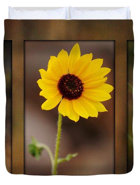 Wildflower 3 Duvet Cover by Jill Reger