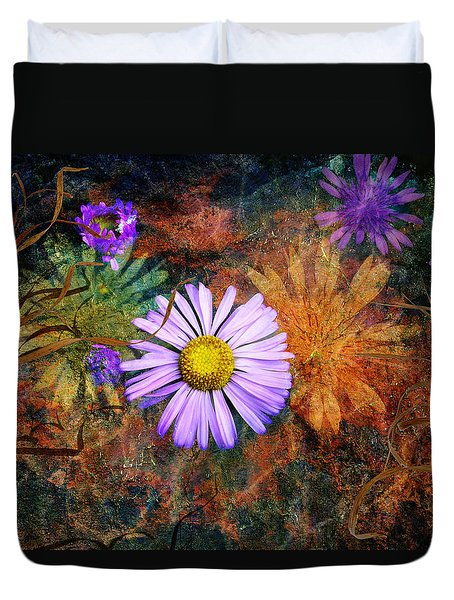 Wildflowers Duvet Cover by Ed Hall