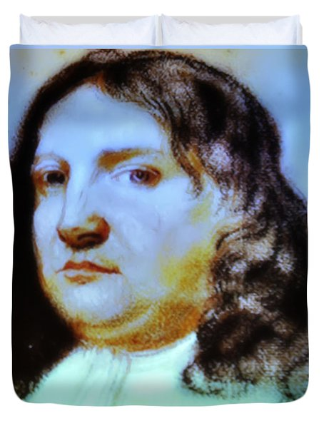 William Penn Portrait Duvet Cover by Bill Cannon