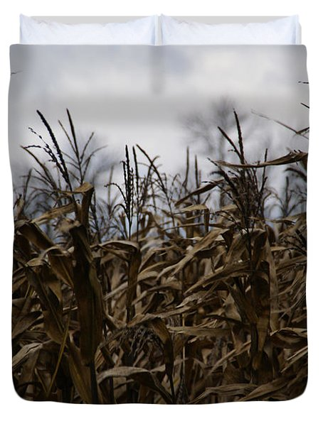 Wind Blown Duvet Cover by Linda Knorr Shafer