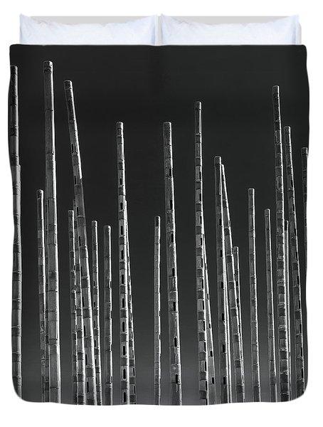 Wind Organ Duvet Cover by Wim Lanclus
