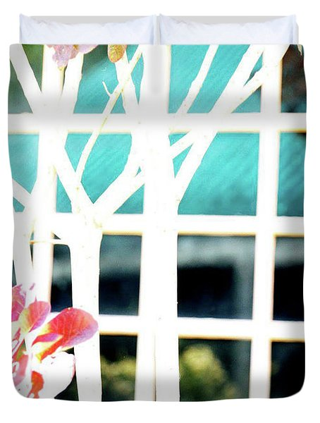 Window Duvet Cover by Nicole Kinney