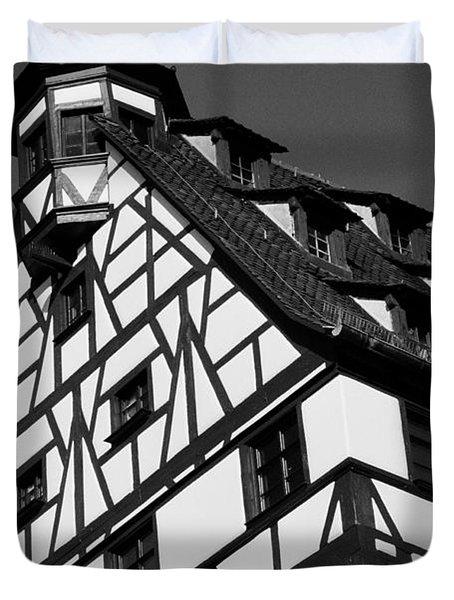 Windows ... Duvet Cover by Juergen Weiss