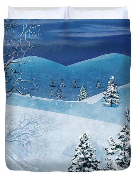 Winter Solstice Duvet Cover by Bedros Awak