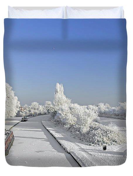 Winter Wonderland Duvet Cover by Rod Johnson
