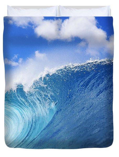 World Famous Pipeline Duvet Cover by Vince Cavataio - Printscapes