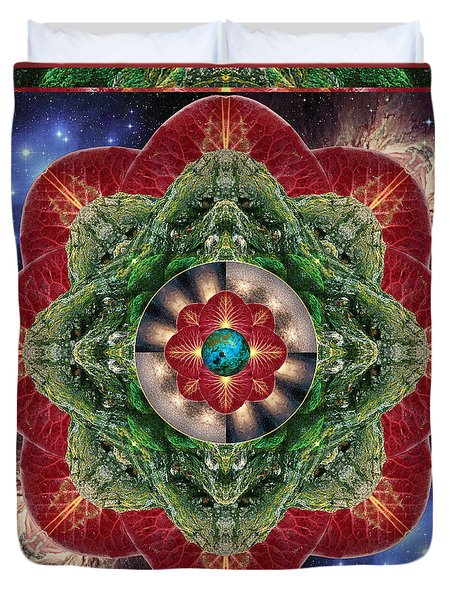 World-healer Duvet Cover by Bell And Todd