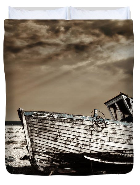 Wrecked Duvet Cover by Meirion Matthias