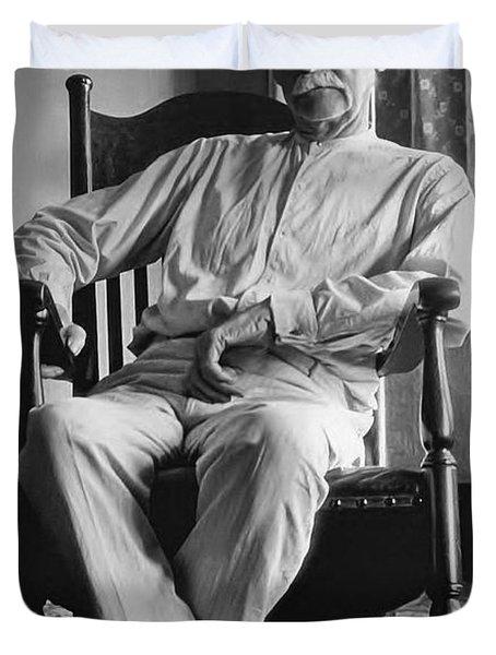 Wyatt Earp 1923 - Los Angeles Duvet Cover by Daniel Hagerman