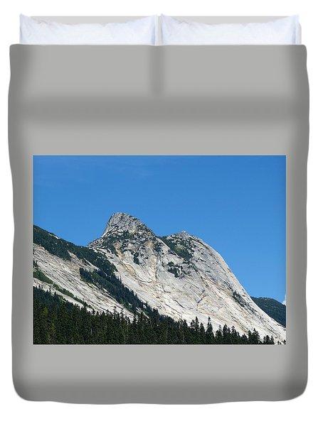 Yak Peak Duvet Cover by Will Borden