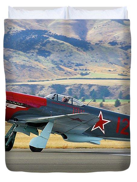 Yakovlev Yak 3-m Duvet Cover by Bernard Spragg