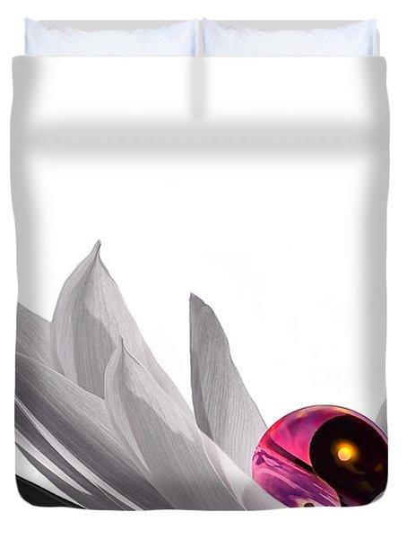 Yin Yang Duvet Cover by Jacky Gerritsen