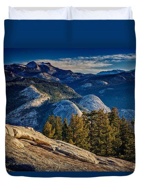Yosemite Morning Duvet Cover by Rick Berk
