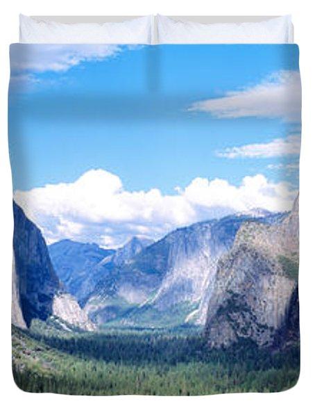 Yosemite National Park, California, Usa Duvet Cover by Panoramic Images