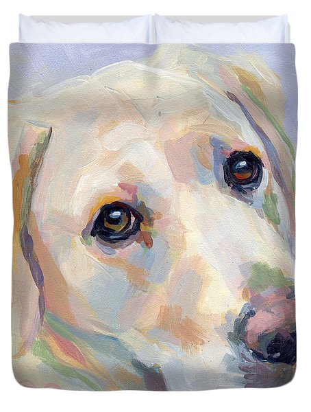 Young Man Duvet Cover by Kimberly Santini