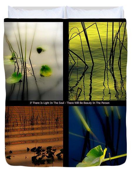 Zen For You Duvet Cover by Susanne Van Hulst