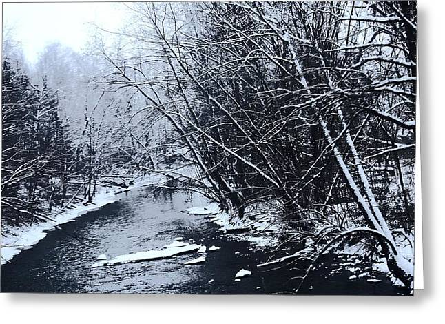 Dam Framed Prints Greeting Cards -          Lake Fork River Greeting Card by R A W M