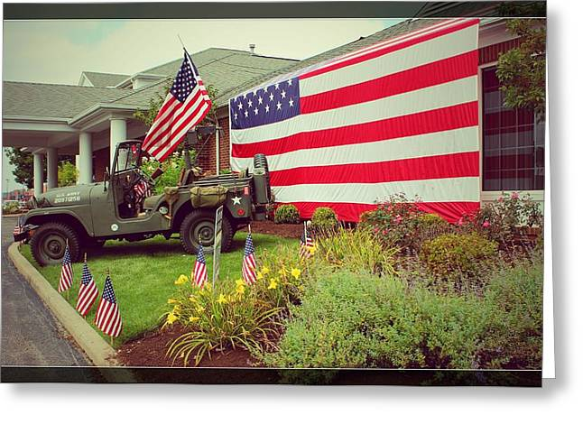 Patriots Framed Prints Greeting Cards -          Some Gave All Greeting Card by R A W M