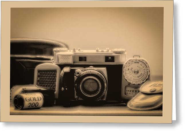 A Kodak Moment Greeting Card by Donna Lee
