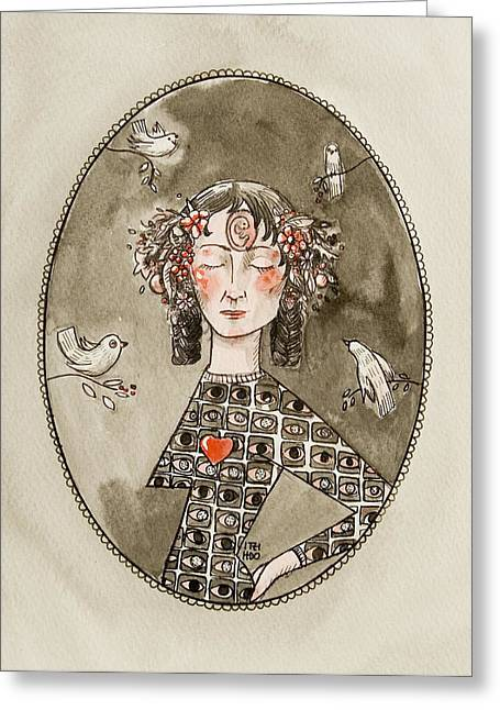 Pen And Paper Greeting Cards -  A wish Greeting Card by Itzi Hdo