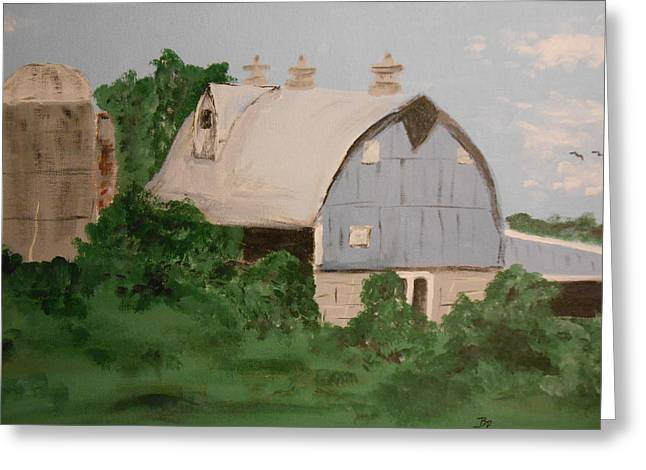 Cupola Paintings Greeting Cards -  Barn #2 Greeting Card by Brian Peterson