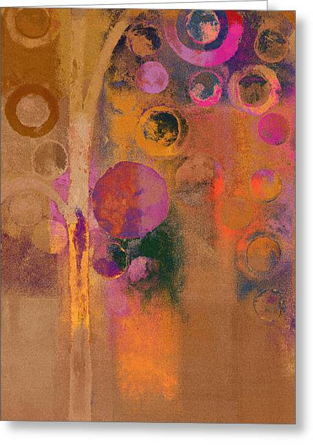 Abstract Realism Paintings Greeting Cards -  Bubble Tree - Lw91 Greeting Card by Variance Collections