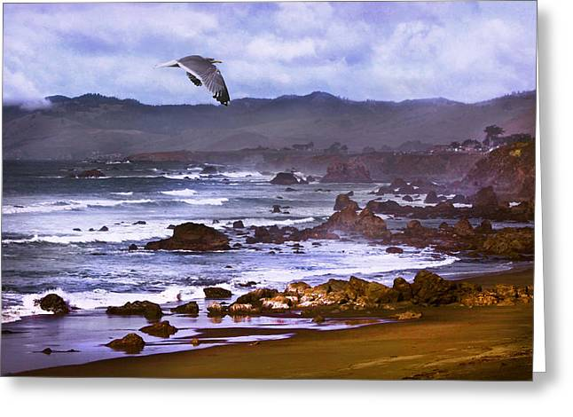 California Beach Art Greeting Cards -  California Highway 1  Greeting Card by Kandy Hurley