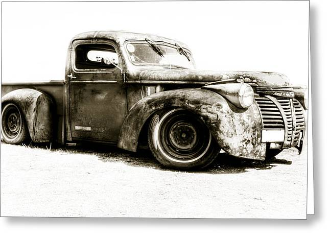 Chevy Pickup Patina  Greeting Card by motography aka Phil Clark