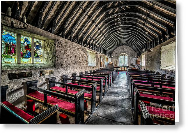Bible Digital Art Greeting Cards -  Church of St Mary Greeting Card by Adrian Evans