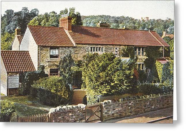 Clevedon Greeting Cards -  Clevedon Cottage Hospital 1909 Greeting Card by Robert Down