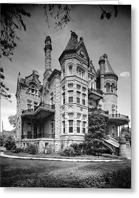 Broadway St Greeting Cards -  Colonel Walter Gresham House Greeting Card by Nomad Art And  Design