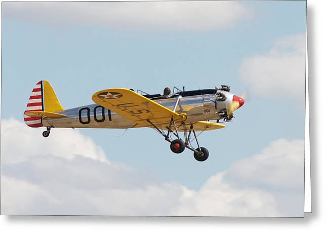 Trainer Aircraft Greeting Cards -  Come Fly With Me Greeting Card by Pat Speirs