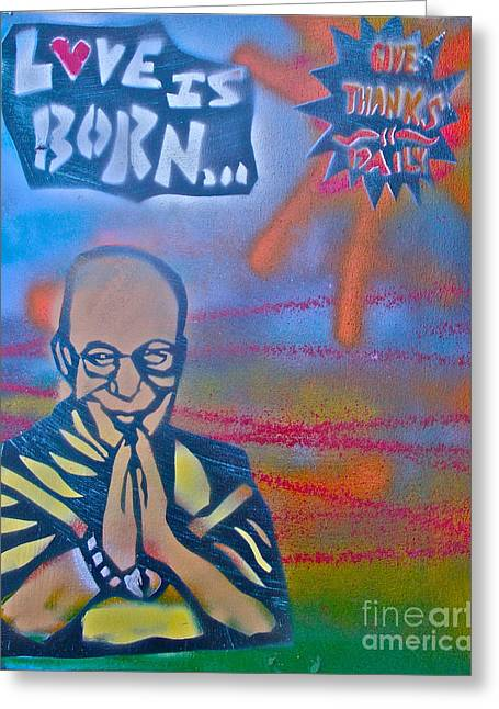 Dalai Lama 1 Greeting Card by Tony B Conscious