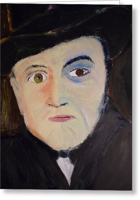 Multiple Personalities Greeting Cards -  Dr Henry Jekyll Greeting Card by Rob Spencer
