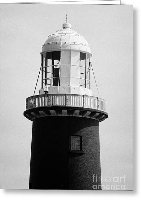 Guglielmo Greeting Cards -  East Light lighthouse Altacarry Altacorry head Rathlin Island  northern ireland Greeting Card by Joe Fox