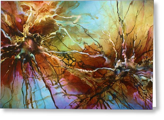 ' Evolution ' Greeting Card by Michael Lang