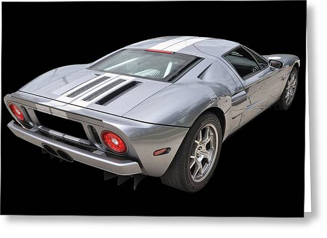 Ford Gt  Greeting Card by Allen Beatty