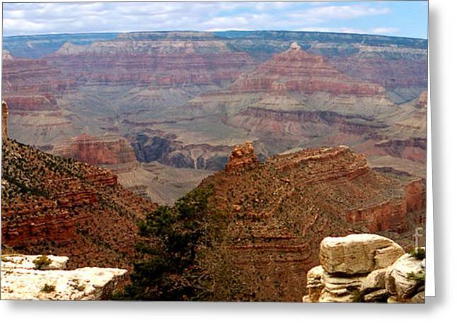 Rare Greeting Cards -  Grand Canyon Panoramic Greeting Card by The Kepharts