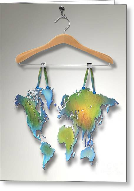 Hanging Out Greeting Cards -  Hanging Out To Dry Greeting Card by Mike Agliolo