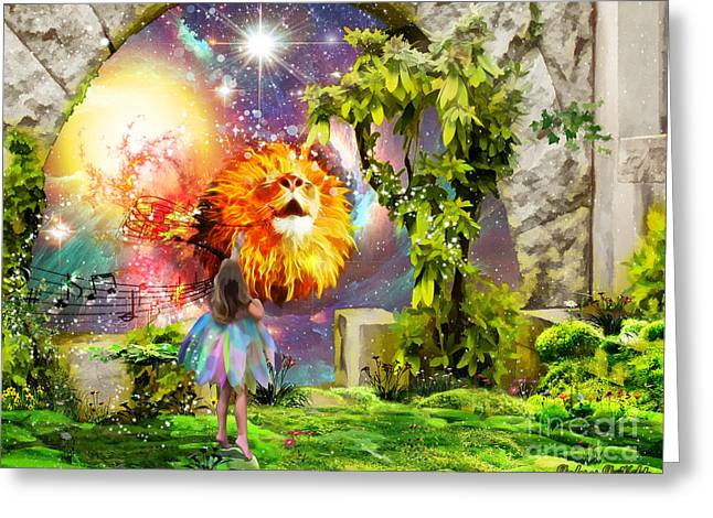 Joy Of The Lord Greeting Cards -  He will exult over you with singing Greeting Card by Dolores Develde