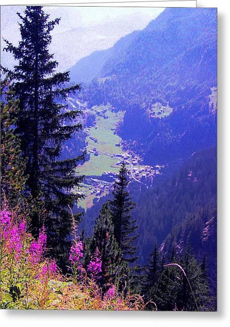 Giuseppe Epifani Greeting Cards -  High mountain pastures Greeting Card by Giuseppe Epifani