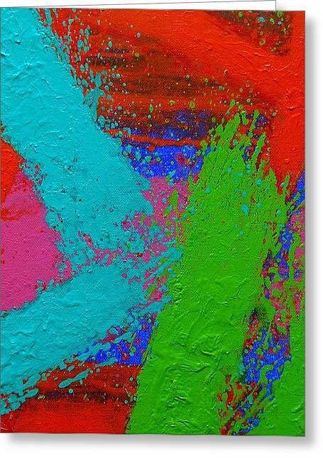 Process Paintings Greeting Cards -  Imma   Ix Greeting Card by John  Nolan