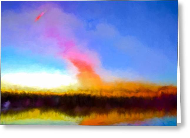 Nature Phots Greeting Cards -  IMPR Morning light otside Enkoping October 31 2014 Greeting Card by Leif Sohlman