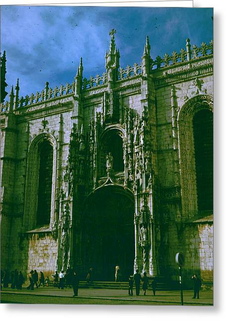 Jer Greeting Cards -  Jeronimos Monastery Greeting Card by Donna Walsh