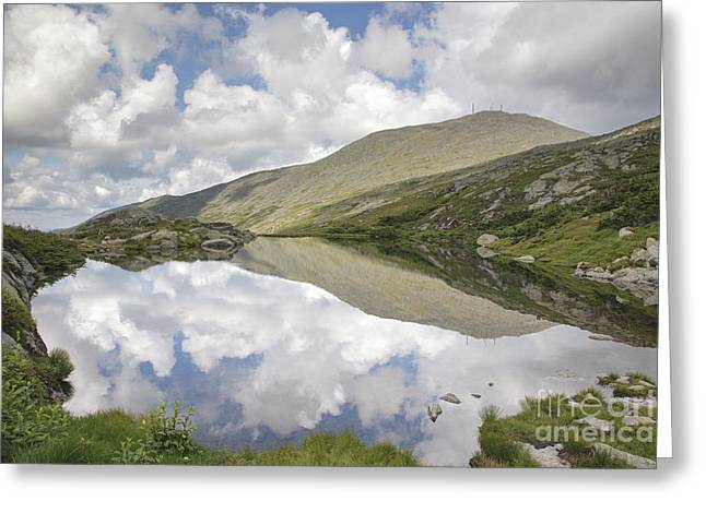 Hiking Greeting Cards -  Lakes of the Clouds - Mount Washington New Hampshire Greeting Card by Erin Paul Donovan